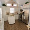 The Lily P-555SL model by Platinum Cottages & RRC Athens. See above for the floorplan, pictures, and pricing of this model previously on display at Recreational Resort Cottages.